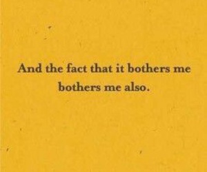 quotes, yellow, and bother image