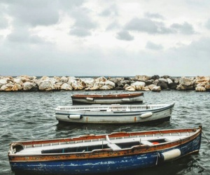 boat, italia, and photo image