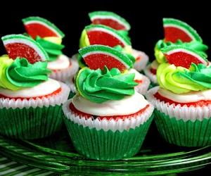 cupcake, sweet, and green image