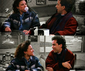 seinfeld, jerry seinfeld, and elaine benes image