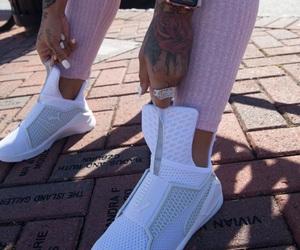 puma, tattoo, and shoes image