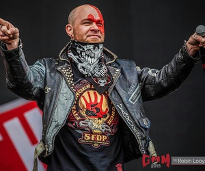 ffdp, five finger death punch, and ivan moody image