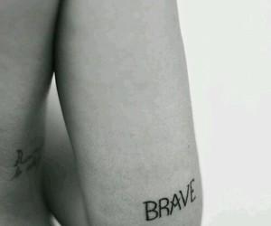 beautiful, brave, and tattoo image