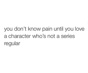 characters, pain, and quote image