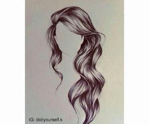 hair, longhair, and ❤ image