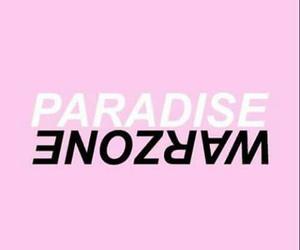 paradise, zayn, and warzone image