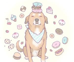 foods, cachorro, and desenho image