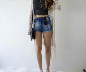 jeans summer look girl image