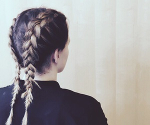 braids, fashion, and hair image