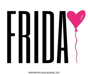 friday, weekend, and balloon image