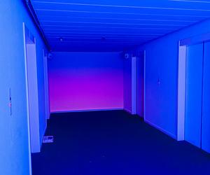 blue, glow, and purple image