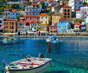 travel, Greece, and sea image