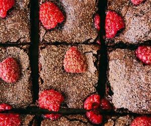 food, chocolate, and raspberry image