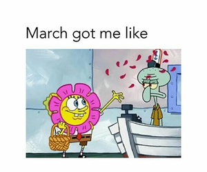 march, funny, and me image