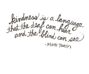 quotes, kindness, and mark twain image