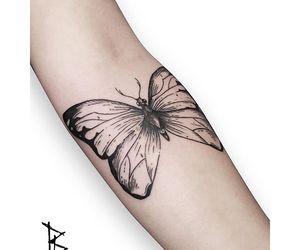 black, skin, and tattoo image