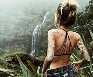 beautiful, girl, and travel+ image