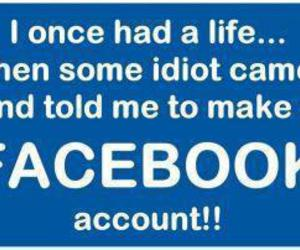 facebook and life image