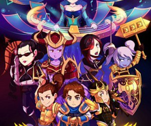 brand, lux, and garen image