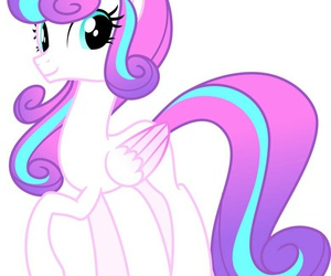 my little pony and flurry+heart+ image