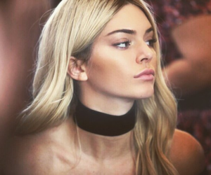 blond hair and kendall mood image