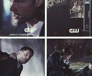 crowley, supernatural, and candy image
