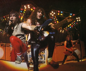 Adrian Smith, steve harris, and Bruce Dickinson image