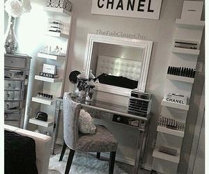chanel, room, and makeup image