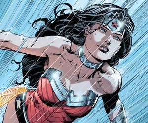 wonder woman, diana prince, and comics image