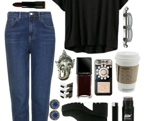 booties, Polyvore, and bluejeans image
