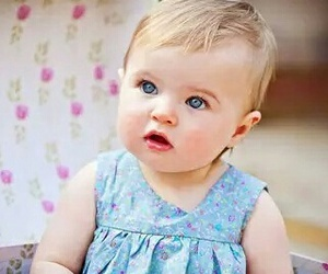 baby, blue eyes, and blue image
