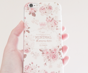 iphone, pink, and cute image