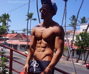 Bas, boy, and fitness image