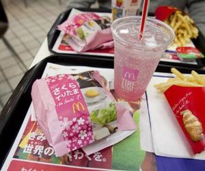 food, japan, and McDonalds image