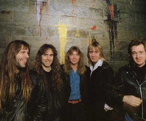 Adrian Smith, Bruce Dickinson, and Dave Murray image