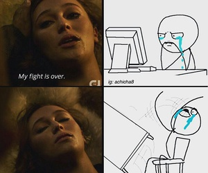 lexa and the 100 image