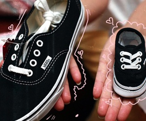 vans, baby, and shoes image
