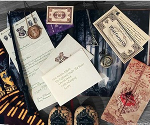 harrypotter, magic, and hogwarts image
