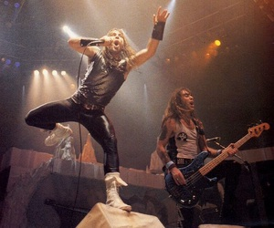 Bruce Dickinson, iron maiden, and steve harris image