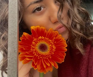 beautiful, curly, and flower image