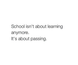 school, passing, and learning image
