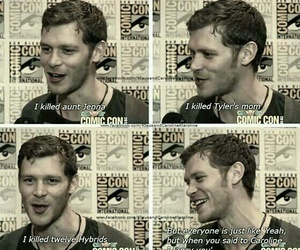 tvd, joseph morgan, and klaus image