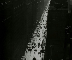 1935, black&white, and city image