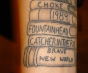 brave new world, hipster, and tattoo image