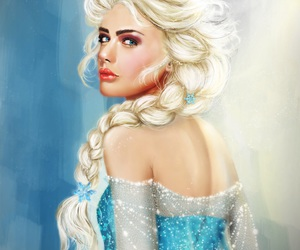 art, frozen, and disney image