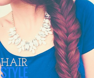 beauty, bijoux, and hair style image