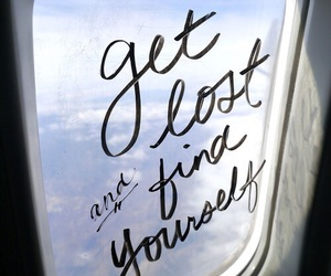 quotes, travel, and lost image
