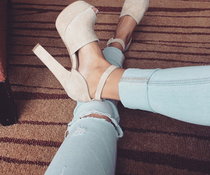 denim and shoes image