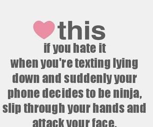 phone, ninja, and funny image