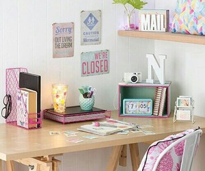 room, inspiration, and desk image